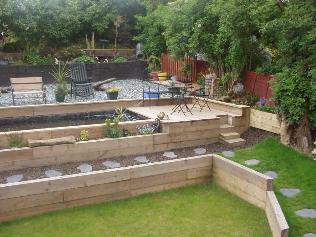 Prodej a v kup palet elezni n pra ce chaty for Back garden designs australia